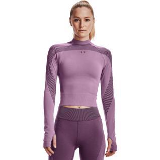 Langarm-T-Shirt für Frauen Under Armour RUSH™ Seamless