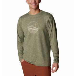 Langarm-T-Shirt Columbia Tech Trail Graphic