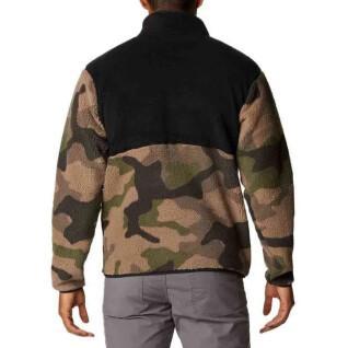 Sweatshirt 1/2 Druckknopf Columbia Rugged Ridge Sherpa