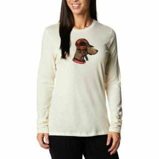 Langarm-T-Shirt für Frauen Columbia Hidden Haven