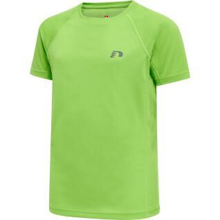 Lauf-T-Shirt für Kinder Hummel core