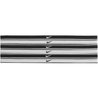 Packung mit 6 Haargummis Nike Swoosh tipped