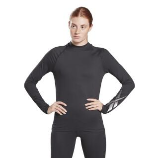 Frauen-T-Shirt Reebok Thermowarm Touch Graphic Base Layer