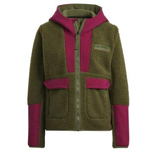 Damen-Sweatshirt adidas Terrex Sherpa ed Fleece