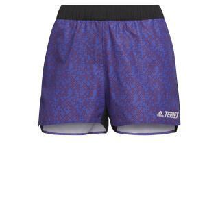 Damen-Shorts adidas Terrex Primeblue Trail Graphic