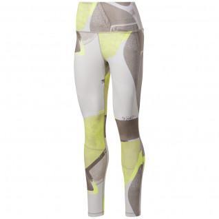 Damen-Leggings mit hoher Taille Reebok Lux Bold