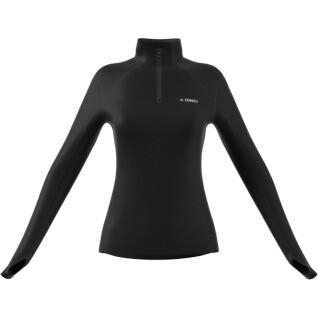 Damen-Sweatshirt Adidas Terrex Multi 1/2 Fleece