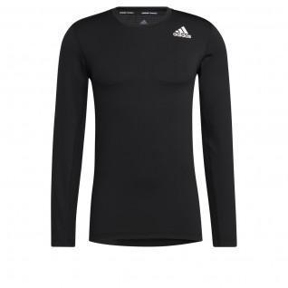 Langarm-T-Shirt adidas Techfit Compression
