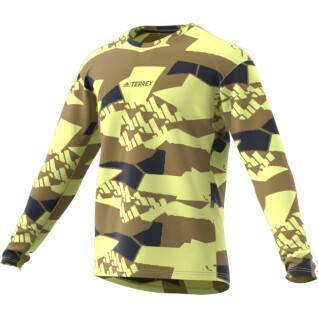 Langarm-T-Shirt adidas Terrex Primeblue Trail Graphic