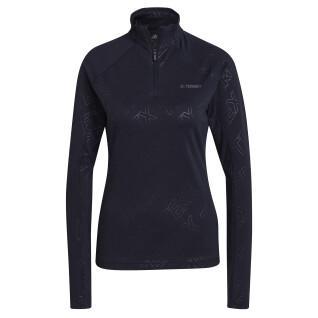 Langarm-T-Shirt für Frauen adidas Terrex Tracerocker