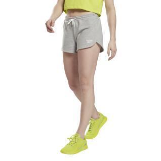 Damen-Fleece-Shorts Reebok Identity