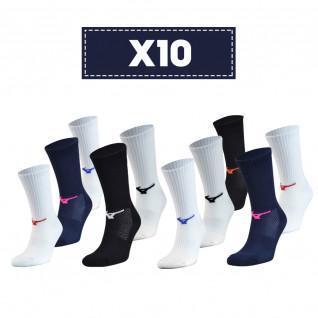 Packung mit 10 Socken Mizuno Multisports