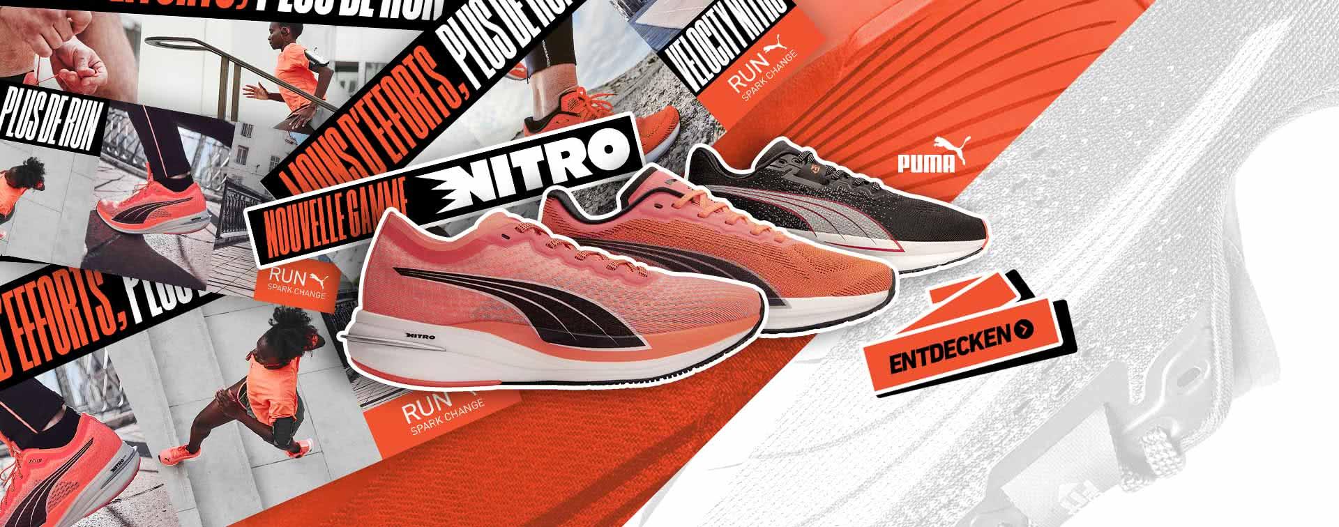 Neue Puma Nitro Reihe